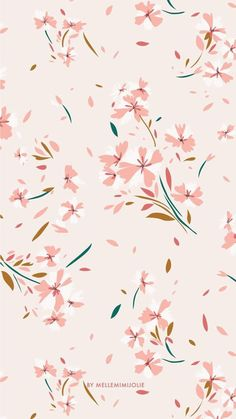 26 Ideas for flowers wallpaper pink print patterns Iphone Background Wallpaper, Pastel Wallpaper, Print Wallpaper, Flower Wallpaper, Screen Wallpaper, Flower Pattern Design, Flower Patterns, Print Patterns, November Wallpaper