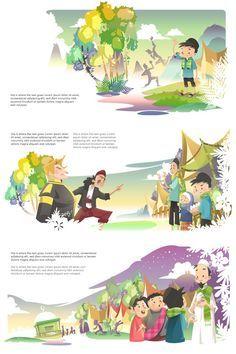 Children illustration art ideas for 2019 Children's Book Illustration, Character Illustration, Digital Illustration, Illustration Children, Children's Comics, Bg Design, Cartoon Background, Kids Story Books, Children's Picture Books