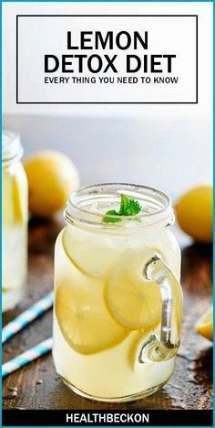 Lemon Detox Diet - Everything You Need To Know ~ Medihealer