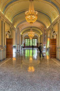Villa Carlotta in #Tremezzo on Lake Como, Italy
