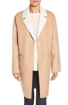 kate spade new york double face wool blend coat available at #Nordstrom