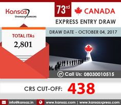 Canada express entry latest draw 2018 rounds of invitations canada express entry is an electronic system which manages pr applications under certain migration programs the eligibility for a pr is determined by stopboris Images