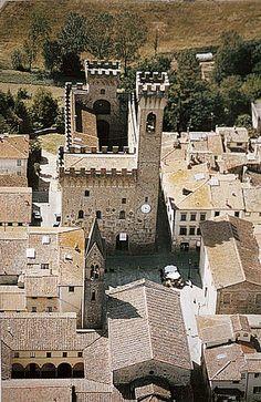 Palazzo dei Vicari - Scarperia, Tuscany, Italy, province of Florence