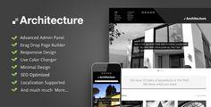 Премиум шаблон Wordpress – Architecture