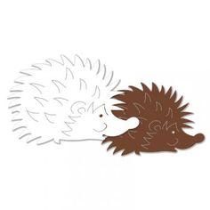 Výřez ježek malý, 12 ks Moose Art, Animals, Animales, Animaux, Animal, Animais, Dieren