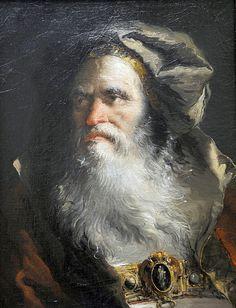 Giandomenico Tiepolo Italian, 1727–1804 Head of a Philosopher, 1758/64.