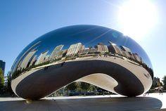 Silver Bean in Millenium Park...must see