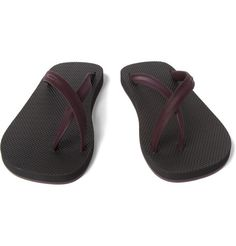 70327a1c250 Dan Ward Two-Tone Flip Flops Designer Sandals