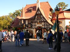 Epcot-BEST chocolate covered marshmallows in the world are sold in that little building!!