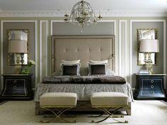 Bedroom interior design and decor ideas - neutral color, griege, taupe, grey - J L Denoit Interior Design _ Bedroom Decor ideas