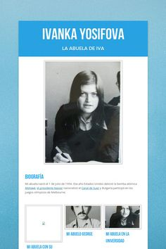 Ivanka Yosifova, la abuela de Iva