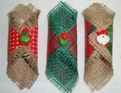 Porta Guardanapo em juta com tecido em várias estampas e cores. Componha sua mesa com Sousplat e Guardanapos.  Guardanapos vendidos separadamente. Pedido mínimo de 04 peças.