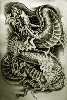 Drachen Tattoo @ http://tattooideen.at/drachen-tattoo/