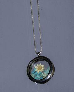 Turquoise Necklace Birthstone Terrarium Jewelry by BottleStillLife
