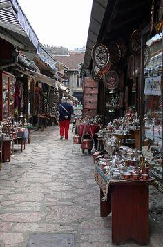 Sarajevo, Bosnia and Herzegovina ---- http://bs.wikipedia.org/wiki/Ba%C5%A1%C4%8Dar%C5%A1ija
