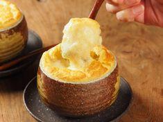 スフレ茶碗蒸し風 (ふわふわ卵の洋風焼き茶碗蒸し)|魚料理と簡単レシピ
