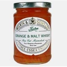 Orange & Malt Whisky marmalade is made from fresh Seville oranges in season, with a generous amount of ten year old Malt Whisky added for an extra special breakfast treat. Shop Tiptree Orange & Whisky Marmalade with Brands of Britain today! Pomegranate Recipes, Pomegranate Juice, Alcohol Bottles, Tequila Sunrise, Clotted Cream, Malt Whisky, Sweet Tarts, Marmalade, Food Gifts