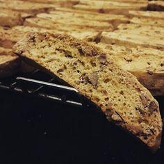Almond Biscotti! #bakes #breads #biscotti #almonds #toasted #tea #munchie #snacks #light