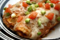 Polish The Stars: Chicken Enchiladas