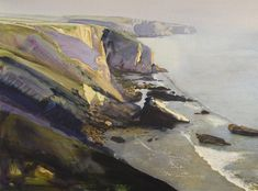Pembrokeshire Cliffs by Bob Rudd