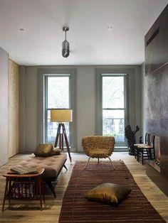 Interieur inrichting van modeontwerper in New York   Inrichting-huis.com