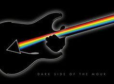 Pink Floyd Art - Dark Side of the Mour by Geoff Strehlow