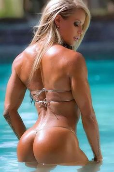 WORK of ART MUSCULAR BODY of sexy #Fitness model : Health, Exercise & #Bodybuilding - the best #Inspirational & #Motivational Pins by: http://cagecult.com/mma