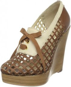 #BE & D FRANKIE Lace-up Wedge