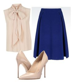 """Untitled #11"" by x-anna-a on Polyvore featuring MaxMara, Armani Collezioni and Massimo Matteo"