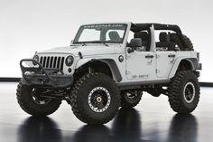 Mopar Jeep Wrangler concept