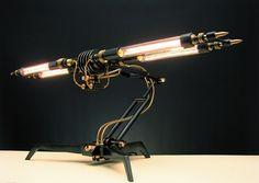 """Steam Punk """"Machines lights""""   By Frank BuchWald"""