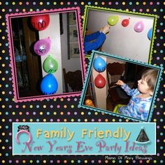 We enjoy spending New Year's Eve with our kids and doing family friendly activities. Here are some really great family friendly New Years Eve party ideas we do with our kids.