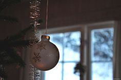 My favourite Christmas traditions - Red, stripes and chocolate Red Stripes, Christmas Traditions, Light Bulb, Christmas Bulbs, Traditional, Chocolate, My Favorite Things, Holiday Decor, Home Decor