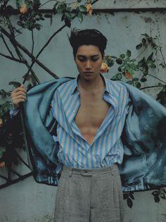 Kaisoo, Kyungsoo, Chanyeol, Vogue Korea, Vogue Spain, Kim Kai, Hot Korean Guys, High Fashion Photography, Lifestyle Photography