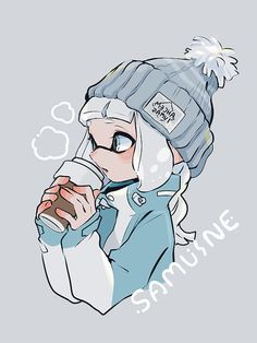 Splatoon Squid, Splatoon 2 Art, Splatoon Comics, Cute Art Styles, Cartoon Art Styles, Art Mignon, Video Game Art, Super Smash Bros, Steven Universe