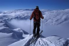 Røldal skisenter in Fjord Norway