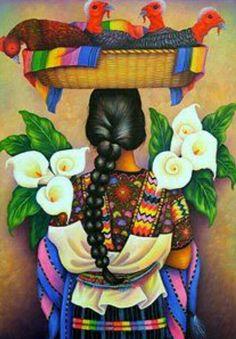 by Antonio Coche Mendoza, Name. A la Venta. by Antonio Coche Mendoza, Name. A la Venta. Mexican Artwork, Mexican Paintings, Mexican Folk Art, Guatemalan Art, Arte Latina, Hispanic Art, Latino Art, Frida And Diego, Mexican Heritage