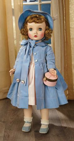 "Sanctuary: A Marquis Cataloged Auction of Antique Dolls - March 19, 2016: 290 American Fashionable Child Doll ""Winnie Walker"" by Alexander"
