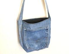 Items similar to Denim bag on Etsy