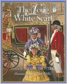 Cover image for Reading Lists, Book Lists, Good Books, My Books, White Scarves, Queen Of England, Illustration, Kids, Victoria