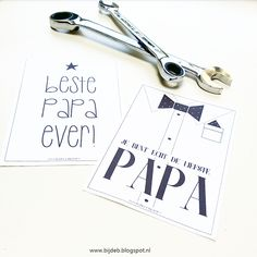 Oefen met handlettering en maak voor papa een mooi cadeau!