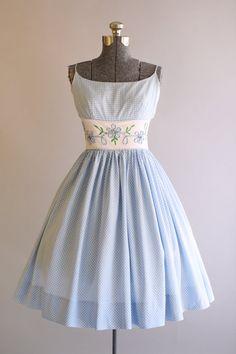 Vintage Sundress 1950's