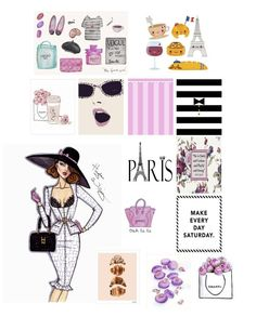 Paris Planner Stickers #PlanWithSummer #SummerKellsey Erin Condren Life Planner: