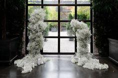 Modern Wedding Reception, Mod Wedding, Floral Wedding, Wedding Ceremony, Wedding Flowers, Wedding Ideas, Green Wedding, Wedding Shoes, New York Bride