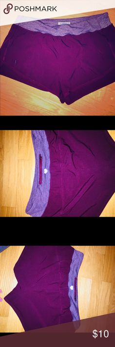 Forever 21 Purple Shorts Comfy Athletic/ Workout Shorts from Forever 21! Very nice color-- Looks like a plum shade of purple and has a light purple/ heather purple colored waistband.  Worn only once and Selling because way too big for my waist!! 😝👍  Ask Questions• Feel free to comment😻☺️ Forever 21 Shorts
