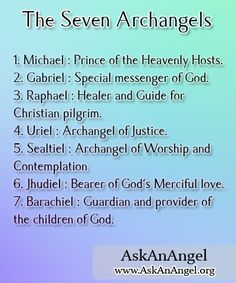 Who Are the 7 Archangels | The Seven Archangels Seven Archangels, Who Are The Archangels, Archangel Prayers, Angeles Custodios, Archangel Michael, Archangel Uriel, Guardian Angels, Guardian Angel Quotes, San Rafael