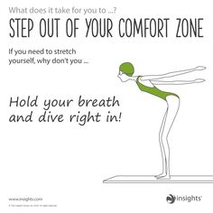 Step out of your comfort zone. Earth Green colour energy