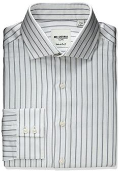Ben Sherman Men's Slim Fit Stripe Spread Collar Dress Shirt     #Easter #ForHim #ForHer #Holidays #GiftIdeas #Gifts #Affiliate