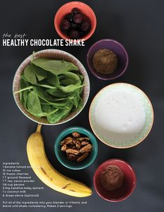 The Best Healthy Chocolate Shake