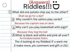 Riddles and answers pinterest riddles and answers riddles and fun